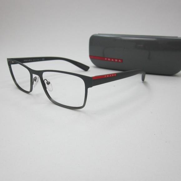 30a1caa6a5f Prada VPS50G U6U-101 Men s Eyeglasses Italy OLZ154.  M 5afdc3c39d20f0a7bfd7e946